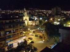 Cochabamba at night