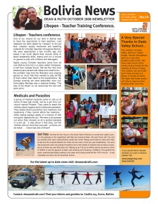 Newsletter 14 page 1