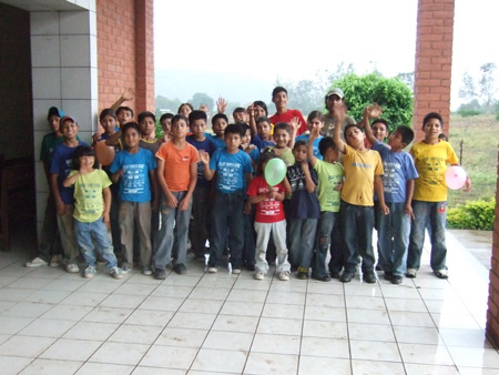 We visited a children's home