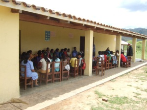 One of the schools we visited
