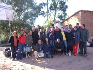 The mission team from our church