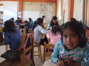 The children's centre at Horno K'casa
